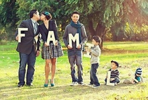 Le Familia / You don't choose your family.  They are God's gift to you, as you are to them.  / by Fanaa Calderon
