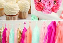 { Events } / Styled Events, kids birthday parties, baby shower, themed party, styled events