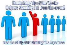 Fundraising Tips / A new fundraising idea every week! Follow us on Facebook too to read more.