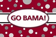 ROLL TIDE ROLL ... ALABAMA FOOTBALL / by Donna Powers