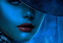 AM I BLUE... / by Donna Powers