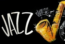 Le Jazz Hot......With some cool rythym & blues ! / Nothing like a glass of wine and a saxophone. Sing to me Ella, Billie and Sarah; play for me Grover, George, Kenny and Ronnie. / by Donna Powers