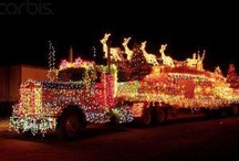"""""""  CHRISTMAS  TRAVELER  """" / YOU REALLY CAN DECORATE ANYTHING FOR THE HOLIDAYS.. / by Donna Powers"""