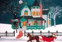 ** A CHRISTMAS HOUSE ** / by Donna Powers