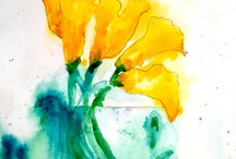 Flora Watercolors by Lynne Furrer / Original watercolors and reproductions by Lynne Furrer www.watercolorbloom.com / by Watercolor Bloom, Lynne Furrer Artist
