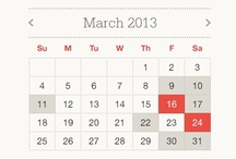 GUI/UI/UX Date & Time Management / by Mavis Hageman
