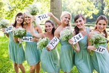 The Bridal Party:) / Everything for the bridesmaids, groomsmen, ring bearer and flower girl(s)! :) / by Olivia Brooker