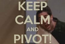 PIVOT! PIVOT!! / because we all need friends / by Olivia Brooker