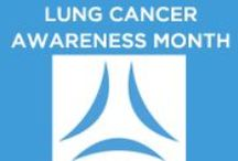 LUNG CANCER AWARENESS / LUNG CANCER AWARENESS  SHARE these info graphics to raise awareness about the deadliest cancer killer.  SHARE pics of survivors to inspire hope and encourage the nation to make lung cancer a national priority so that we will have a world with more survivors. November is Lung Cancer Awareness Month and May is Lung Cancer Hope Month