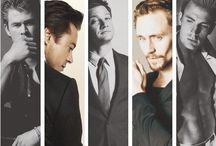 MARVELous World / Marvel Hero and Villains, Thor, Loki, Captain America, Iron Man
