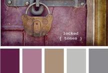 Color My World - Design / Color Pallettes, Color Schemes, Design Ideas