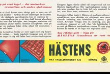 Hästens ads from the Past / A selection of advertisements from our archives. For TV commercials, check our youtube channel www.youtube.com/user/HastensTv