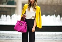 { Office style } / How not to look like everyone else at work...