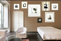 Fun Wall Montages of Obrien Schridde Picture Frames / Cool picture frame montages for all different style room.