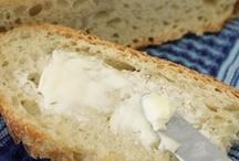 Baking: Bread, Breadsticks, Rolls, Etc / Bread, breadsticks, rolls, croissants, pretzels.... / by Jeanette Swalberg