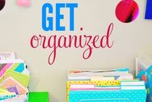 Love to be Organized / Life is chaotic enough ... Get your home and life more organized with these tips and ideas!