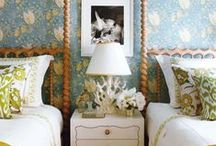 Twin Beds / So many ideas for twin beds / by Carolyn Sawyer