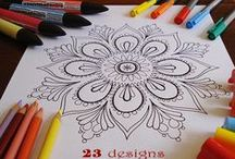 Artistic: Coloring pages / Coloring pages for kids and adults  / by Jeanette Swalberg
