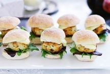 Food for entertaining / Healthy ideas for finger food