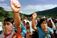 """Chiapas / Zapatistas / EZLN / """"El mundo que queremos es uno donde quepan muchos mundos. La patria que construimos es una donde quepan todos los pueblos y sus lenguas, que todos los pasos la caminen, que todos la rían. Que la amanezcan todos."""""""