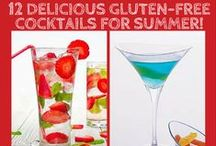 Gluten Free Booze / Gluten-Free Booze Recipes for friends with celiac disease or gluten sensitivity. These gluten-free recipes are delicious, easy to make and best of all -- use only 7 ingredients or less. Gluten used to be my Kryptonite, but now, she's my Beeyotch.