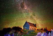 Lake Tekapo / 星空で世界遺産登録を試みる、「テカポ湖」の素敵なイメージを集めました。 バレンタイン企画!ニュージランド・テカポ湖にふたりで名前をつけた星を探しに行く旅。詳しくはこちらhttp://bit.ly/1Q8sKUb