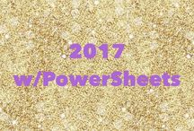 2017 with PowerSheets