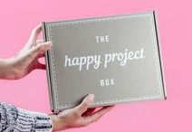 The Happy Project Box / Get an inspirational tee monthly and spread good vibes with The Happy Project Box. Every month, you'll get a super soft, high quality inspirational tee and other cool products with positive messages. All created with love in Los Angeles by designer Lance Kitagawa. Perfect for the beach, yoga, the gym or anywhere else you'd like to infuse some positivity into your life and the world around you.