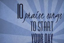 Music to live by! / Praise and worship / by Peggy Knowles