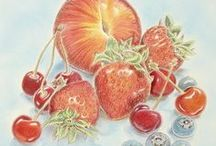 Colored Pencil Art / Discover the basics for beginning in colored pencil art—and refine and expand your colored pencil techniques with helpful tips and pointers and easy-to-follow, step-by-step instruction from the experts. You'll learn about burnishing, working with solvents, water-soluble colored pencils and more!