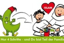 "Kid's Room / Do you know our project the ""grünebanane"" (greenbanana)? It is project for muslim children and families, supported by muslimehelfen. Find out more on www.gruenebanane.de or on  www.facebook.com/gruenebanane.de"