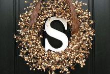 CRAFTS -- wreaths / by Sydney True Smith