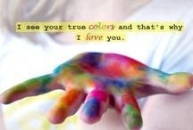 Colors of the World / the colors of the world that brightens our lives / by Ruth Ann Stephan Adams