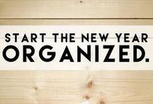 Let's Get Organized  / organization ideas.