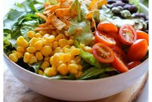FOOD -- salads / by Sydney True Smith