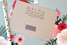 Invites & Addys / Invitation and addressing wording and references  / by Julie Q