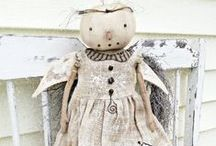 Bunny Doll, Maileg, Rabbit and furniture / Stuffed Bunnies, patterns, rabbit dolls, and their necessities.
