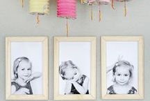Let's Display Our Photos / Creative ways to show your photos around your home.