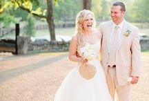 Radiant, Southern, and Sweet Summertime Wedding / Megan and Brett's Wedding Day, Photo Credit: Kristyn Hogan