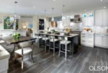 Kitchen: Open Concept / They had the stunning patio and pool. Next up, a free-flowing kitchen design!