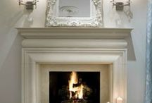 Fireplace Design / Whether a show-stopping feature wall or for functional warmth, a fireplace makes a lovely design element for your home.  Need inspiration?  I have lots to share!