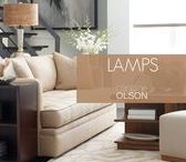 LIGHTING:  Lamps / Table lamps are a basic must-have for both function and beauty. As a task light, it must be the proper height for reading or working. But who says a task light must be boring? Look for lamps that offer finishes and colors that speak to you!