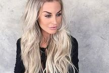 ↞ Hair ↠ / Ideas for the perfect Cut and Color and hairstyle. Long Hair :: Short Hair :: Medium length hair :: Pixie Cut :: Long or Short bob. Inspo for Ombre :: Balayage :: Brown :: Blonde :: Red :: Platinum :: Highlights :: Top Bun, Braid, Twist, Curl and more!