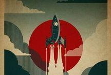 ROCKETS / We love Rocket Ships!