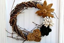 Wreaths  / by Kristen Mason