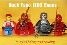 Busy Kids:  LEGO / We love LEGOs!