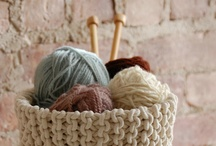 Crochet & Knitting Basket Ideas / Live out of your imagination, not your history. Stephen Covey / by Monica Monteiro