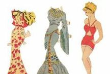 paper dolls / by Amanda Atkins
