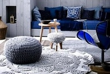 Crochet & Knitting Rug Ideas / I will not play tug o' war. I'd rather play hug o' war. Where everyone hugs instead of tugs, Where everyone giggles and rolls on the rug, Where everyone kisses, and everyone grins, and everyone cuddles, and everyone wins. Shel Silverstein / by Monica Monteiro