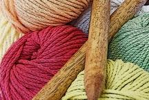 Knitting for me Crochet for mom